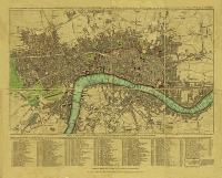 Map of London, c. 1792
